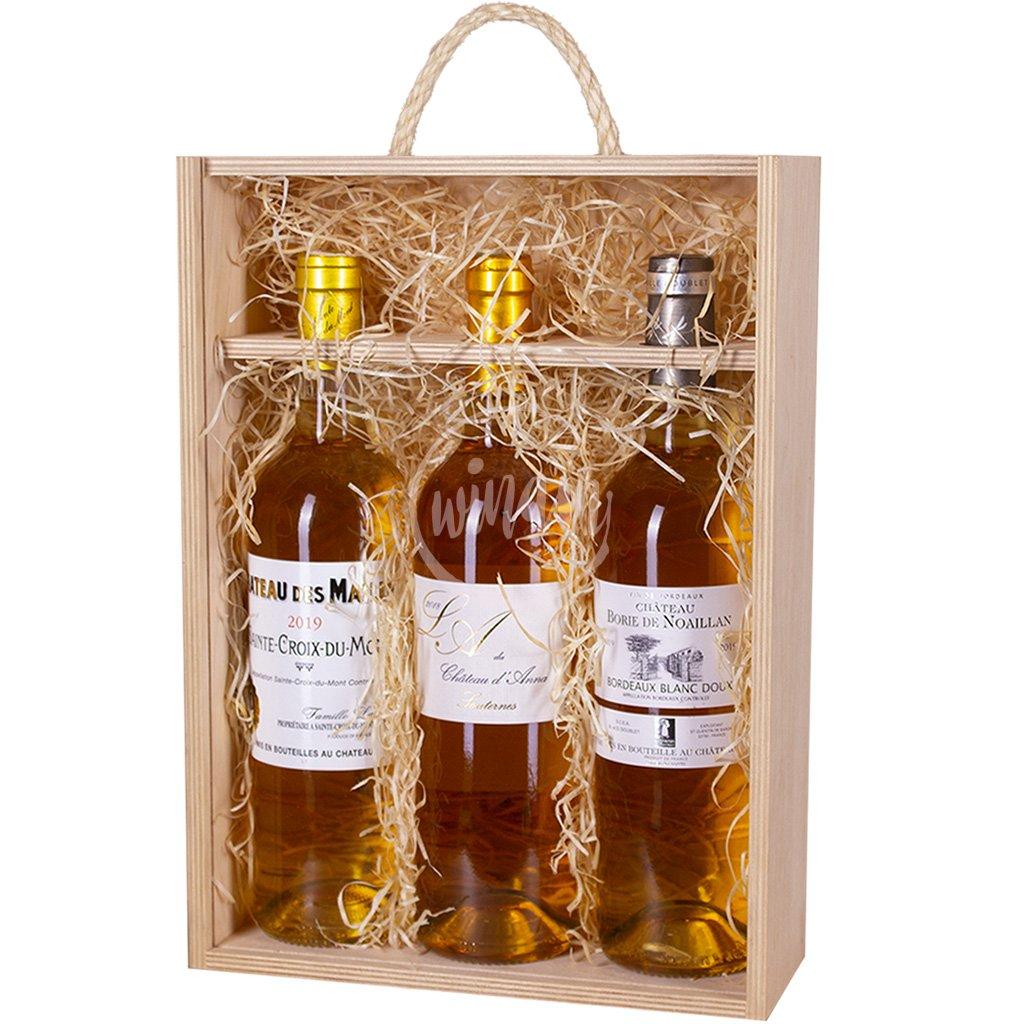 Trio sladkých vín z Francie