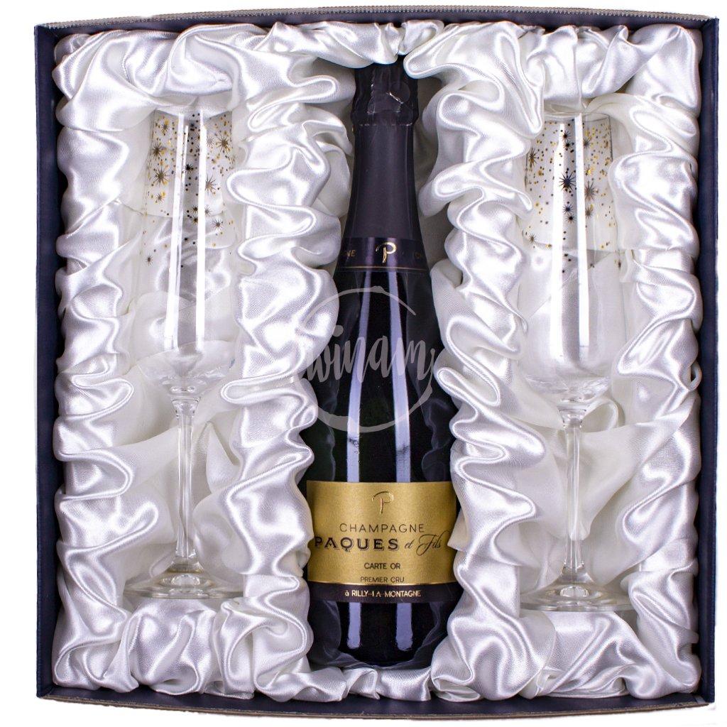 Luxusní polosuché šampaňské