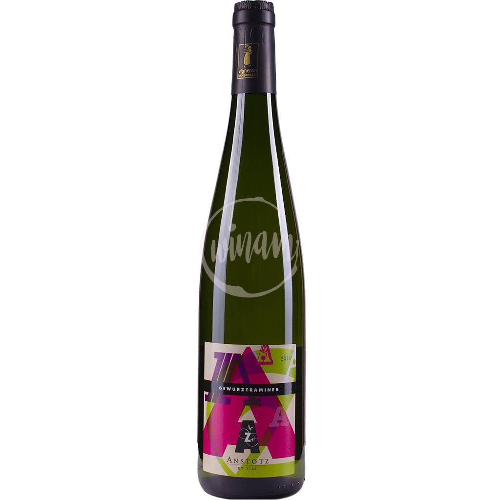 Sladké víno z Alsaska