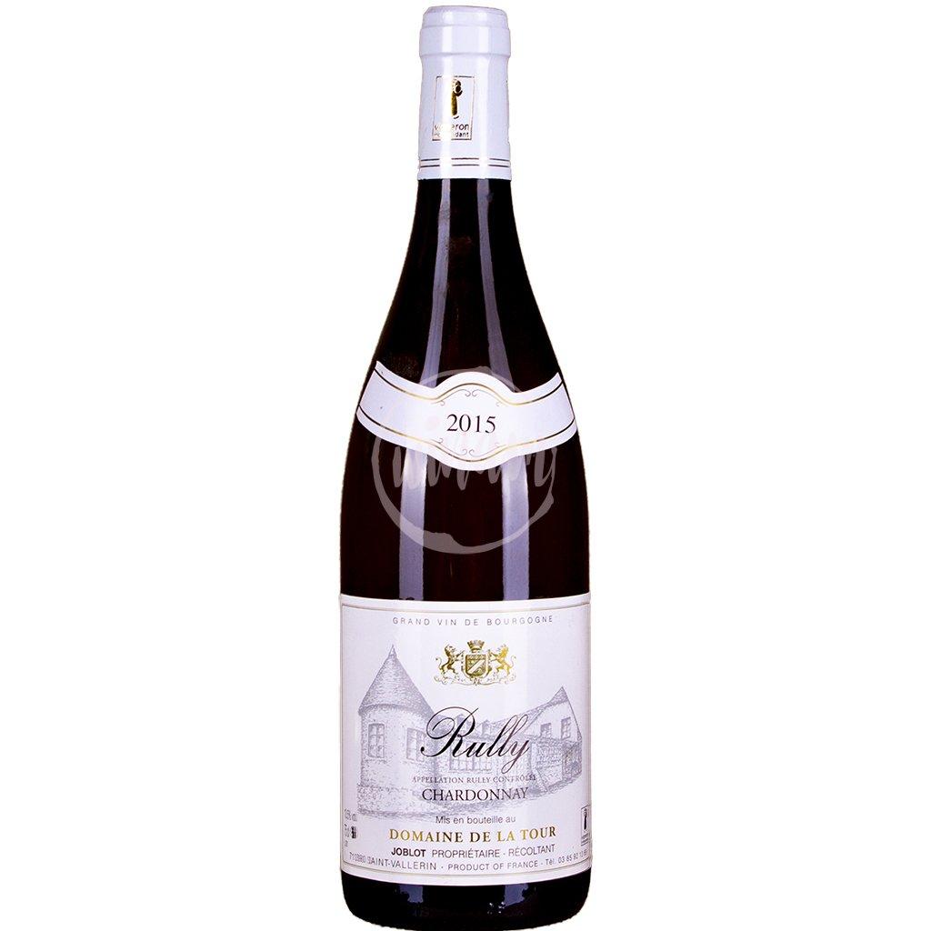Rully - Burgundské Chardonnay