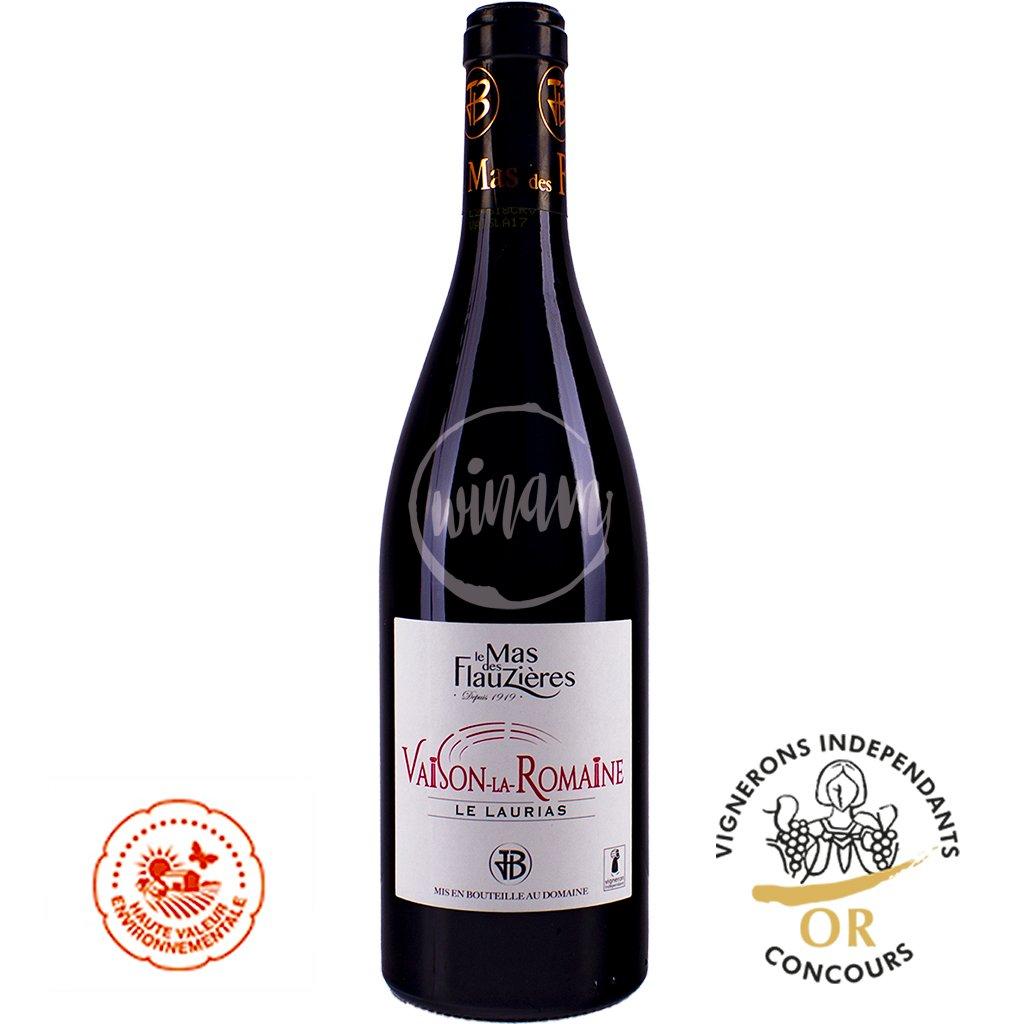 Červené víno z údolí Rhôny