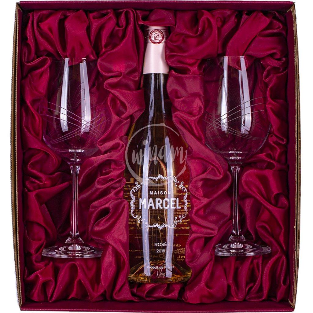 Polosuché Rosé z Provence jako dárek