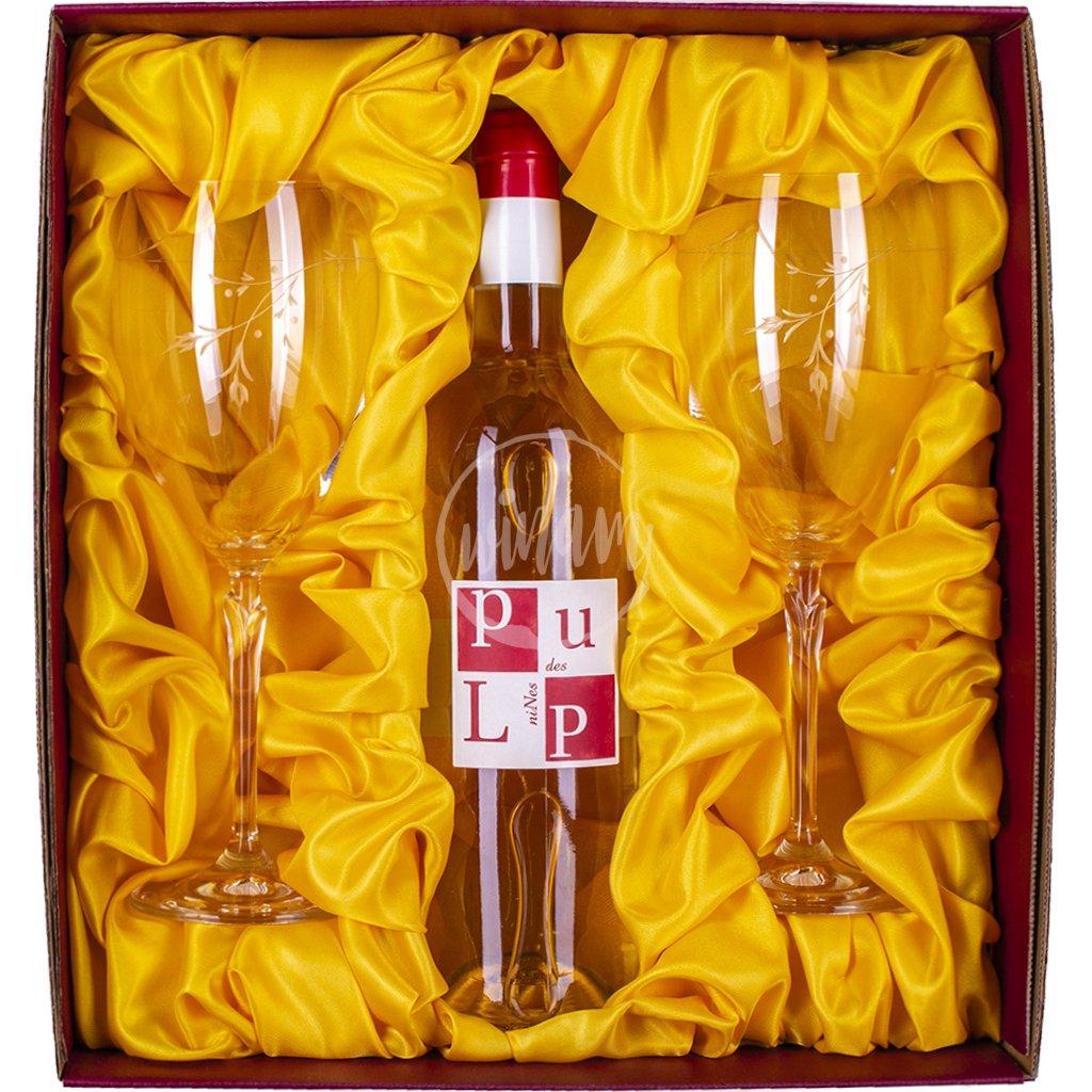Aromatické víno v dárkové kazetě