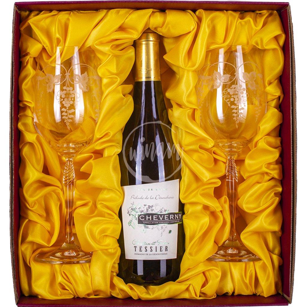 Luxusní dárková kazeta s vínem