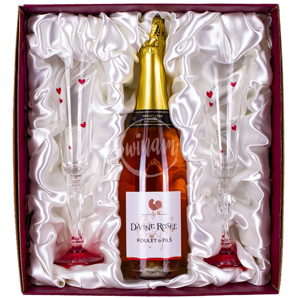 Luxusní dárková kazeta s polosuchým vínem