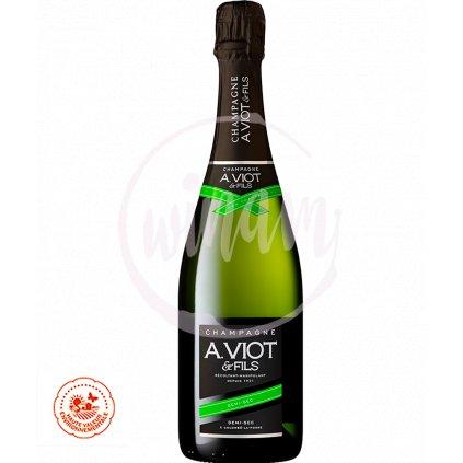 Polosuché šampaňské - zrání 5 let v láhvi