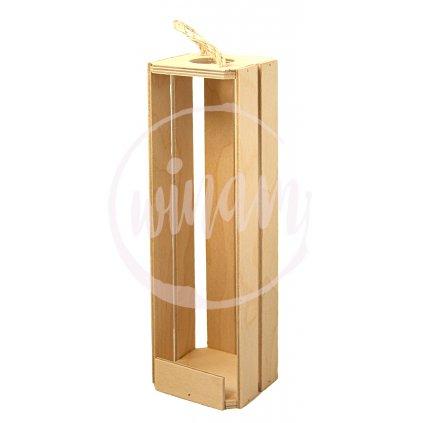 Dřevěný box na 1 víno