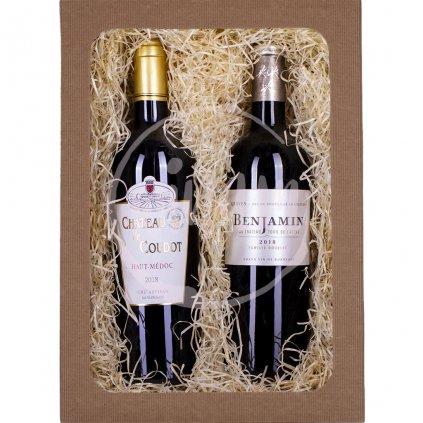 Dárkové víno z Bordeaux