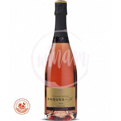 Růžové šampaňské - Premier Cru