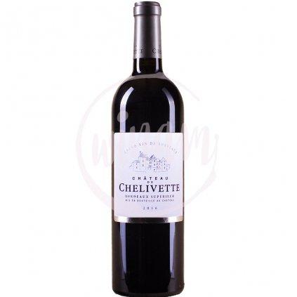 Biodynamické červené cuvée z Bordeaux