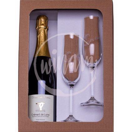 Šumivé víno - dárkový set