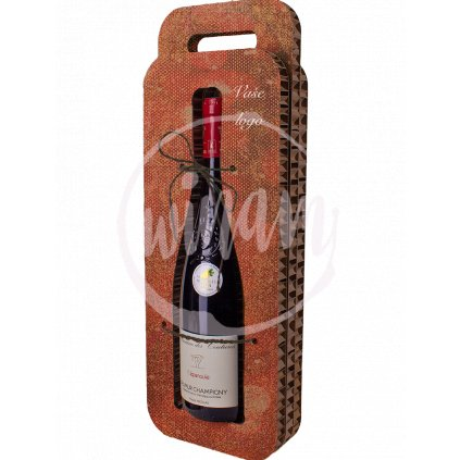 aktraktivní obal pro firemní víno