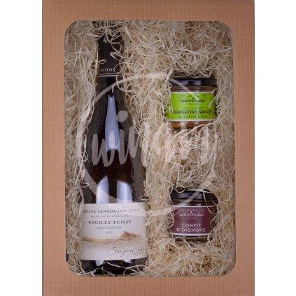 Dárkové balení - víno a speciality