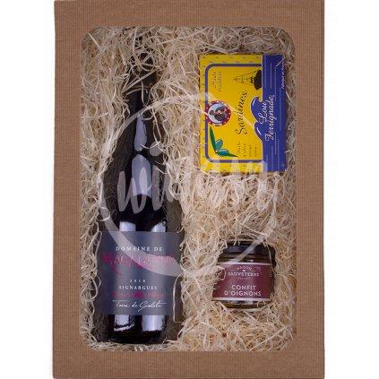 Červené víno z Francie jako dárek