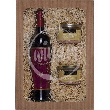 Červené víno z Bordeaux jako dárek
