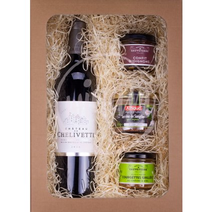Dárkové balení vín - Bordeaux