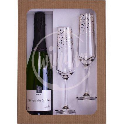 šumivé víno z Loiry