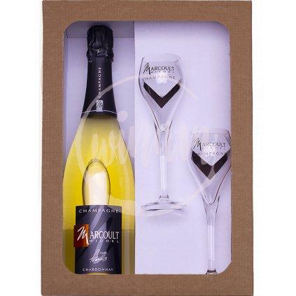 Luxusní šampaňské Blac de Blanc