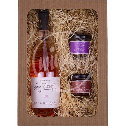 Víno jako dárek - rosé