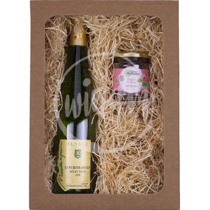 Polosladké víno jako dárek