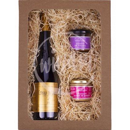 Dárkové balení - víno z Francie