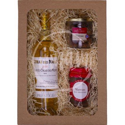 Víno jako dárek - sladké Bordeaux