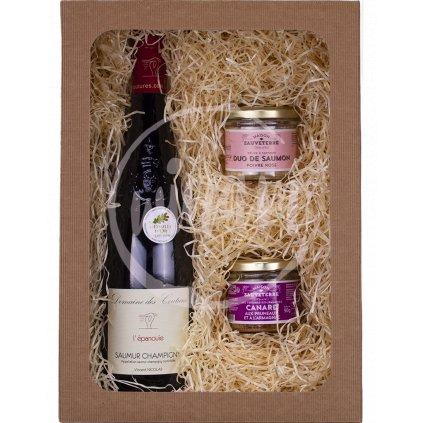 Červené víno - dárkové balení