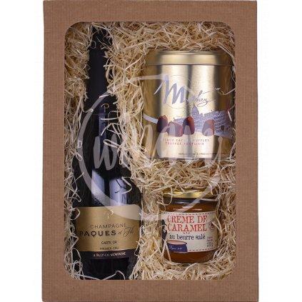 Luxusní dárková sada s šampaňským
