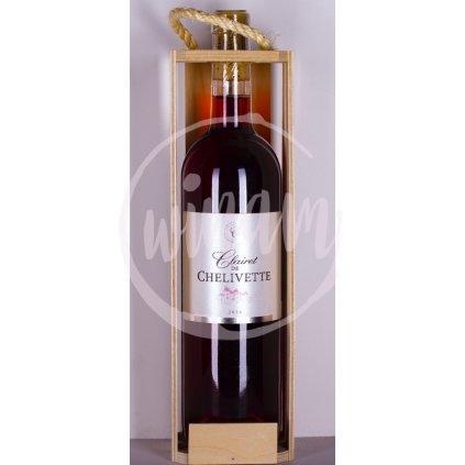 Biodynamické rosé z Bordeaux