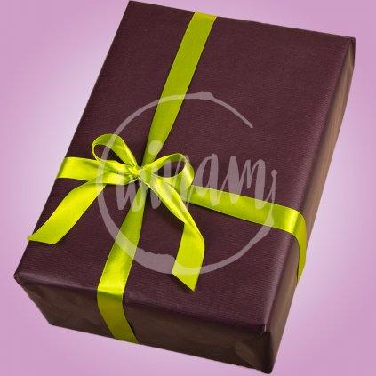 balici papir čokoladova zelena