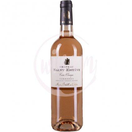 Růžové víno z Languedocu