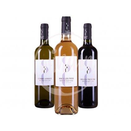 Trio vín z Languedocu