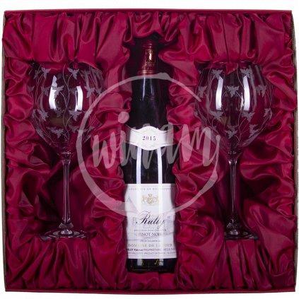rully rouge 2 skleničky
