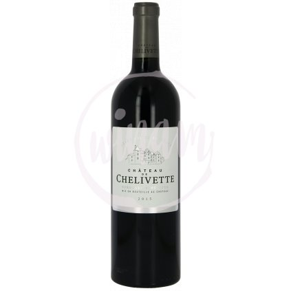 258 chateau de chelivette bordeaux superieur rouge 2015
