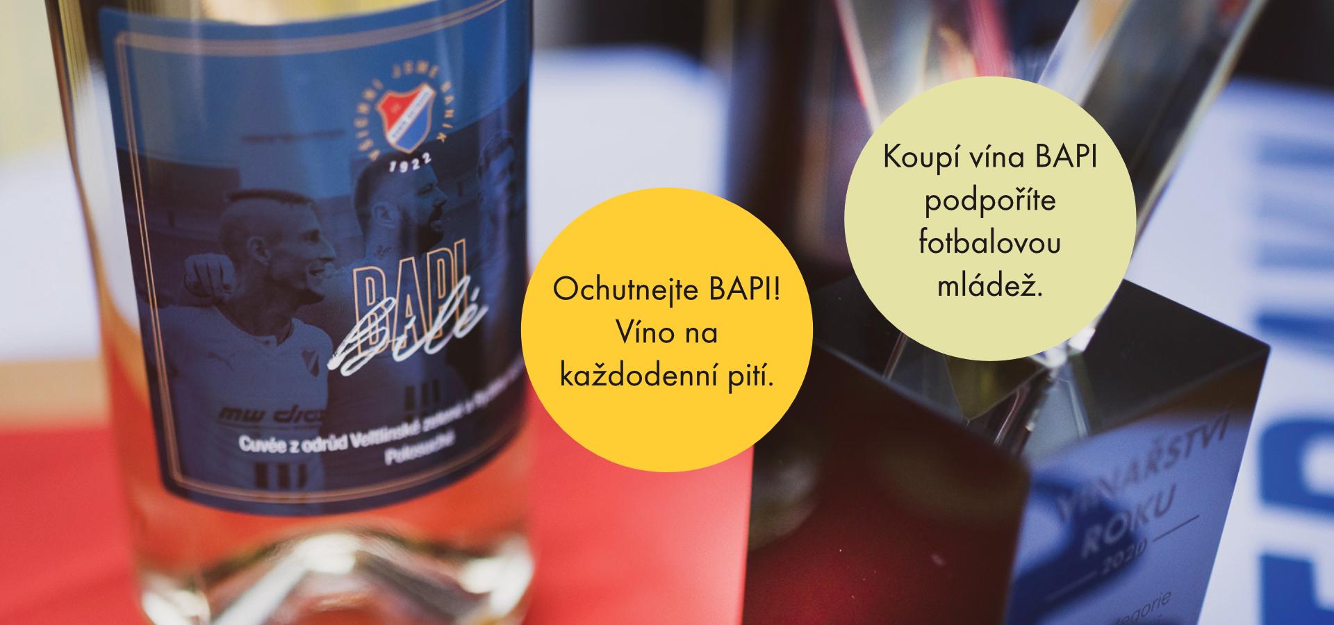 BAPI - Víno FC Baník Ostrava