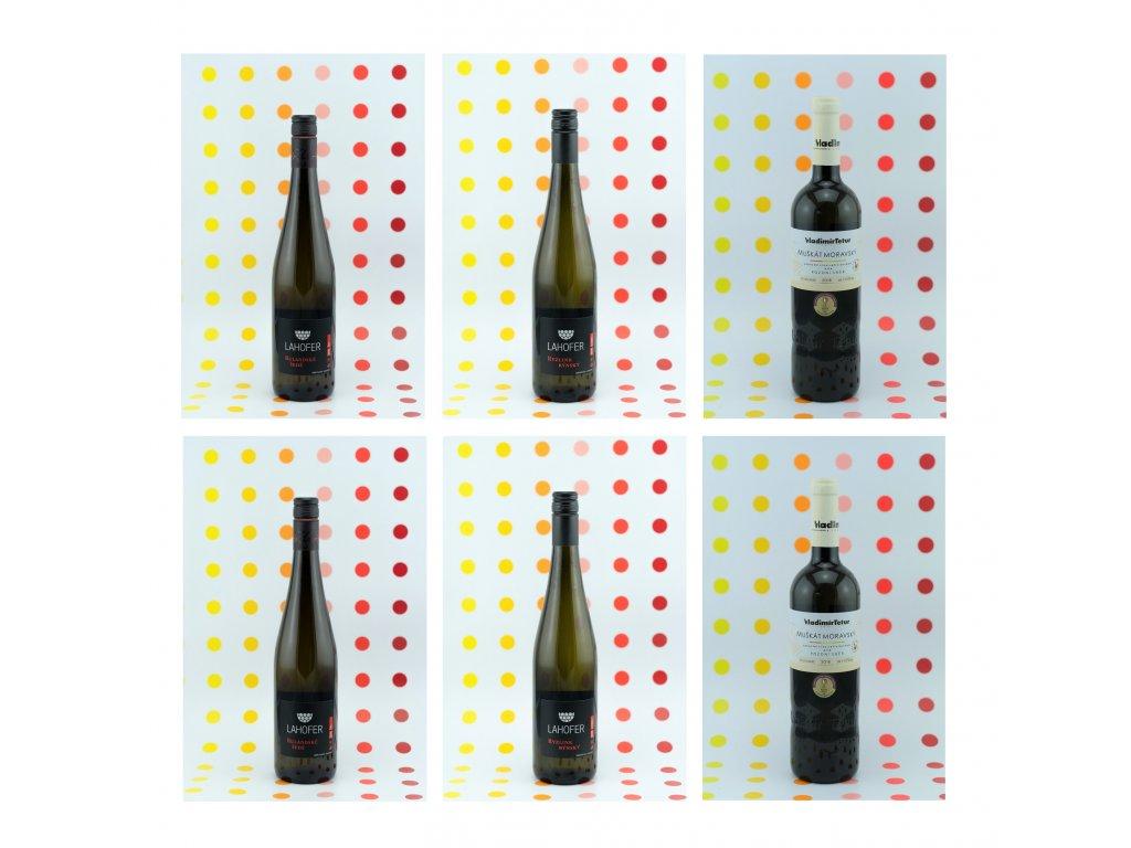vína ze salonu polosladká