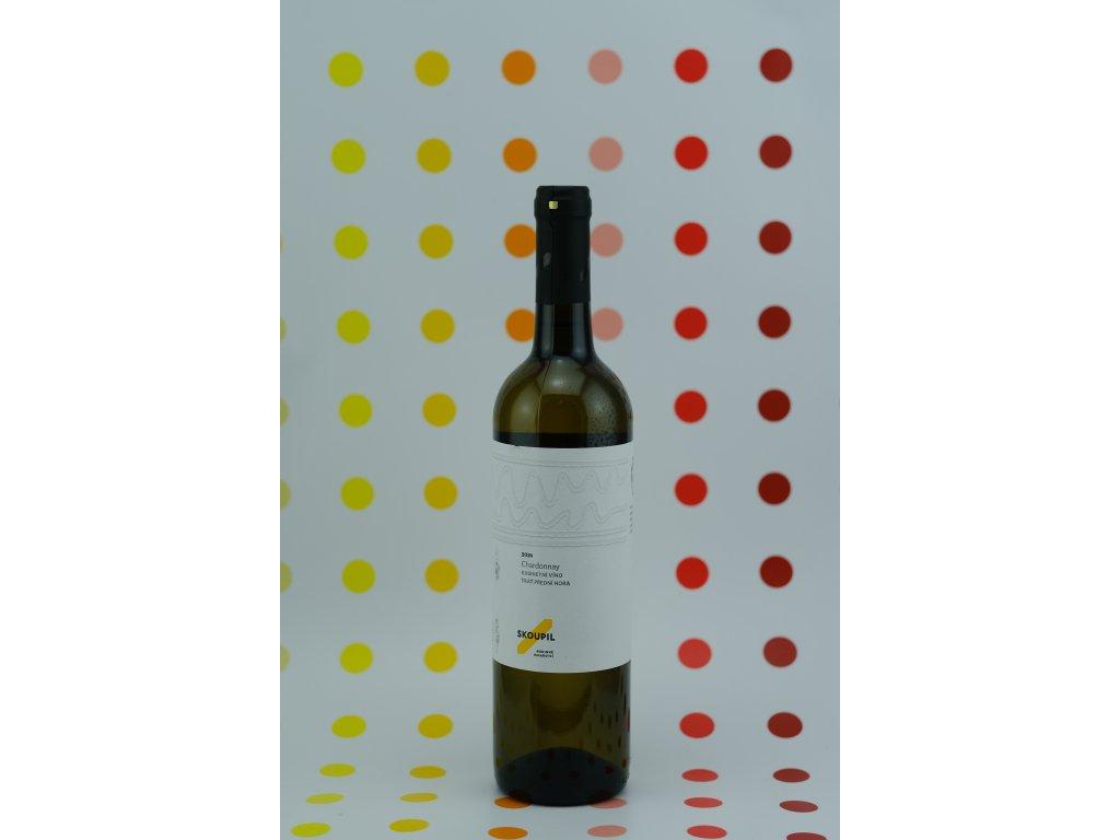 Chardonnay, kabinetní, 2018, Skoupil