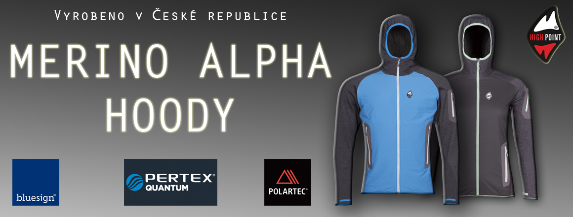BUNDA high point alpha hoody