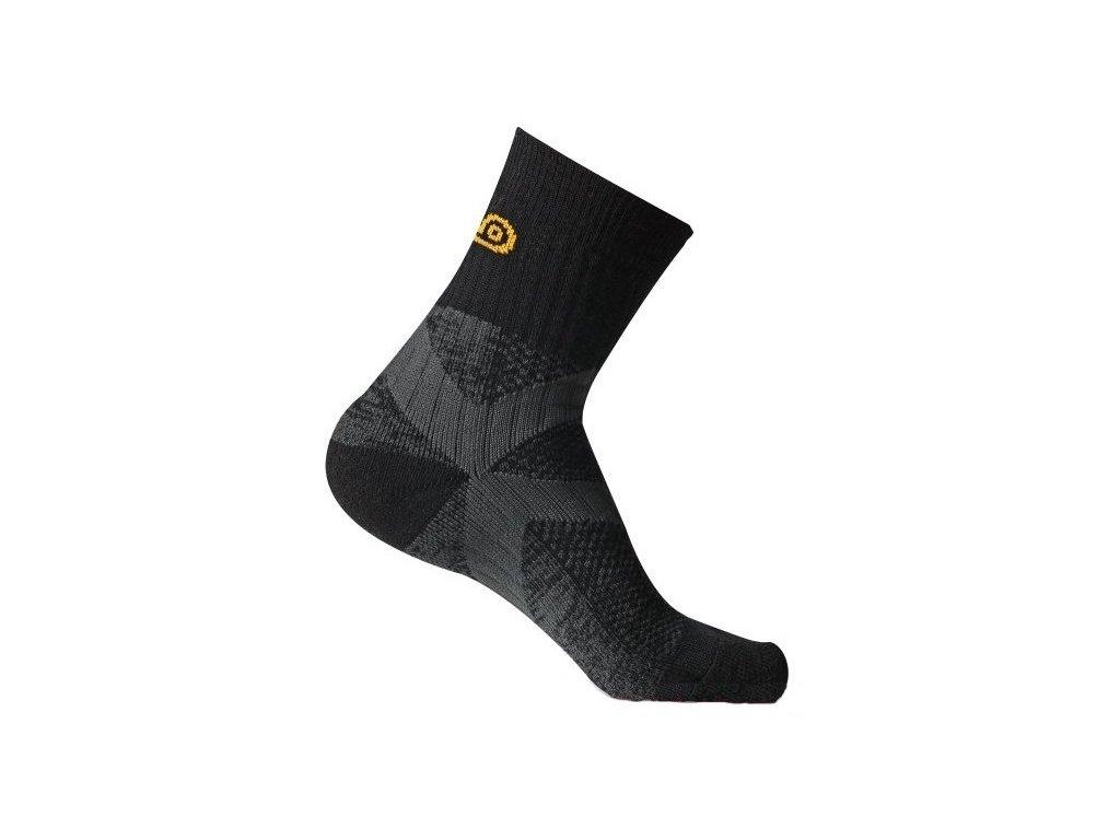 a7e04e26552 asolo nanosox. Trekové ponožky z velkým podílem merino vlny a antibakteriální  úpravou nanočásticemi stříbra.