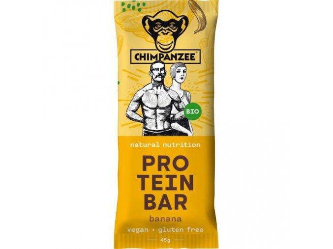 CHIMPANZEE bio protein bar banana 45g