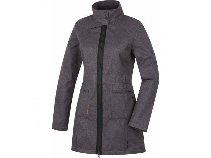 HUSKY SIVIEN černá  soft. kabát