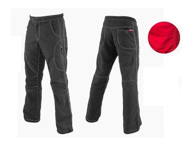 SALTIC MIRAGE Long červené kalhoty