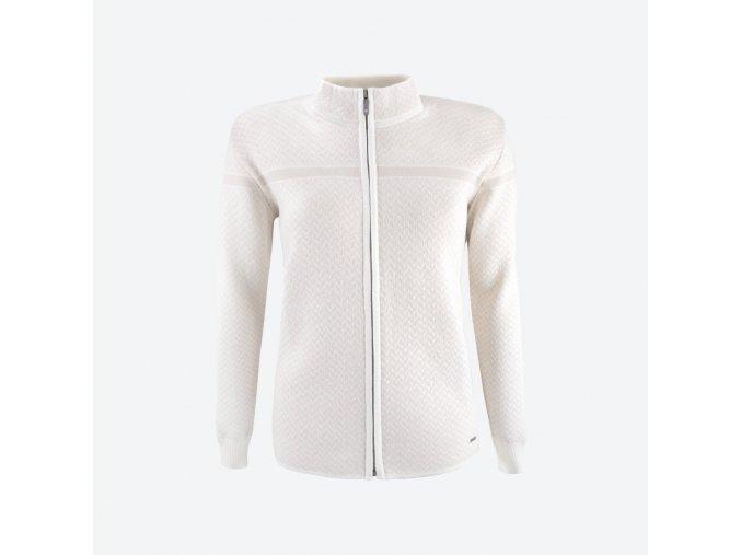 KAMA 5014 dámský svetr 101 přírodní bílá