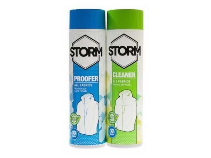 clim thumb xxl STORM 2018 TWINPACK WASHIN CLEANER PROFER ALLFABRIC 300ML