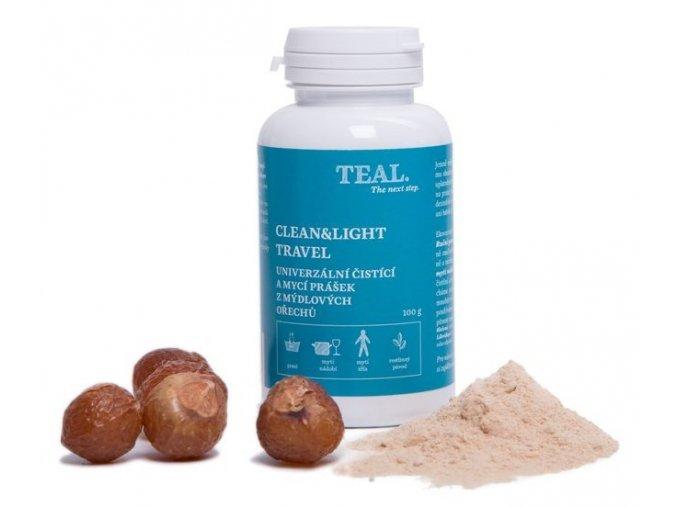 teal clean light travel doza 100 g 09100 01 bile deko w