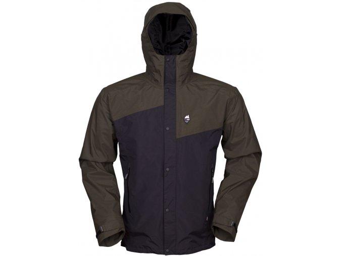 HIGH POINT REVOL Jacket dark khaki/black