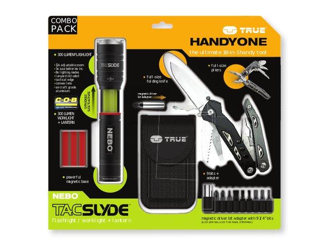 Handyone & Tac Slyde Pack Visual