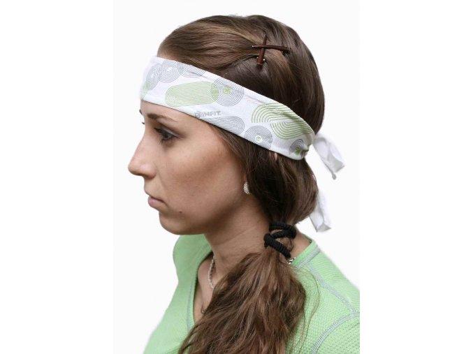 INFIT FITNESS čelenka vázací úzká