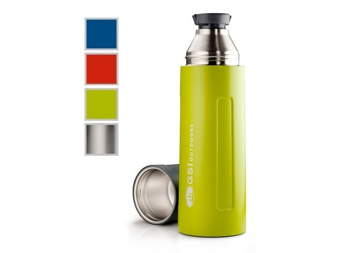 GSI Glacier Stainless Vacuum Bottle 1l (varianta blue)