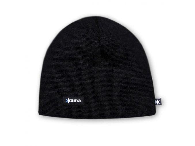 KAMA A02 pletená čepice 110 černá (varianta XL)